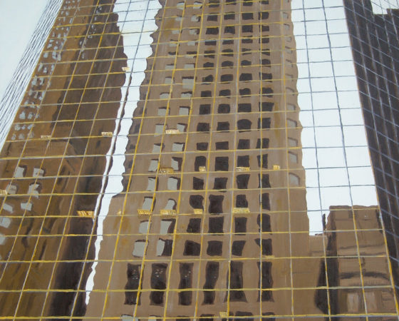 New York, Spiegelbeeld van een reflectie