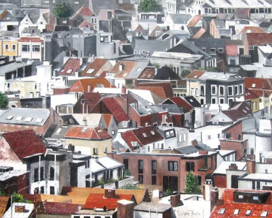 Antwerpen – Zicht vanaf Het Museum Aan de Stroom