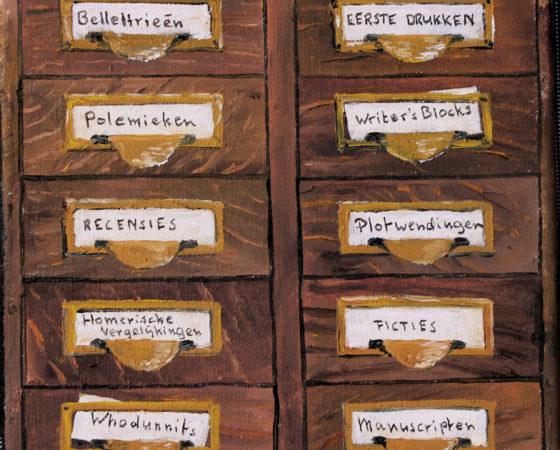 Het Ladenblokje van de Romanschrijver