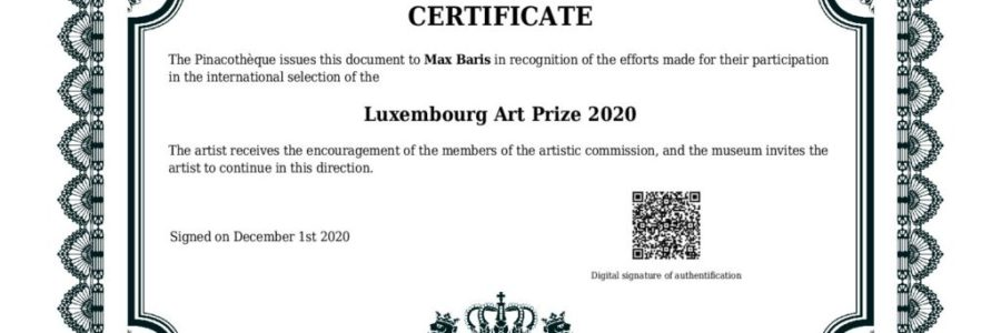 The Luxembourg Art Prize